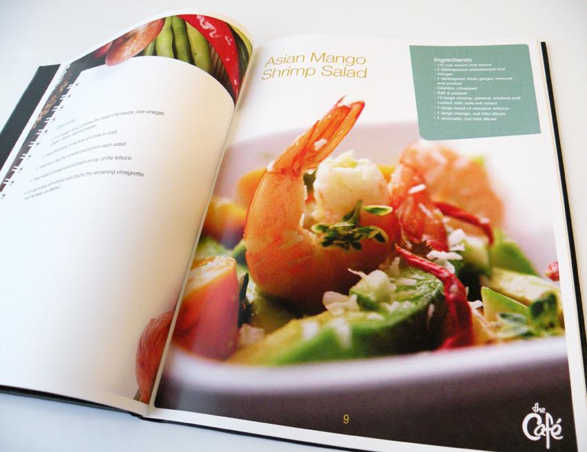 the Cafe Recipe book