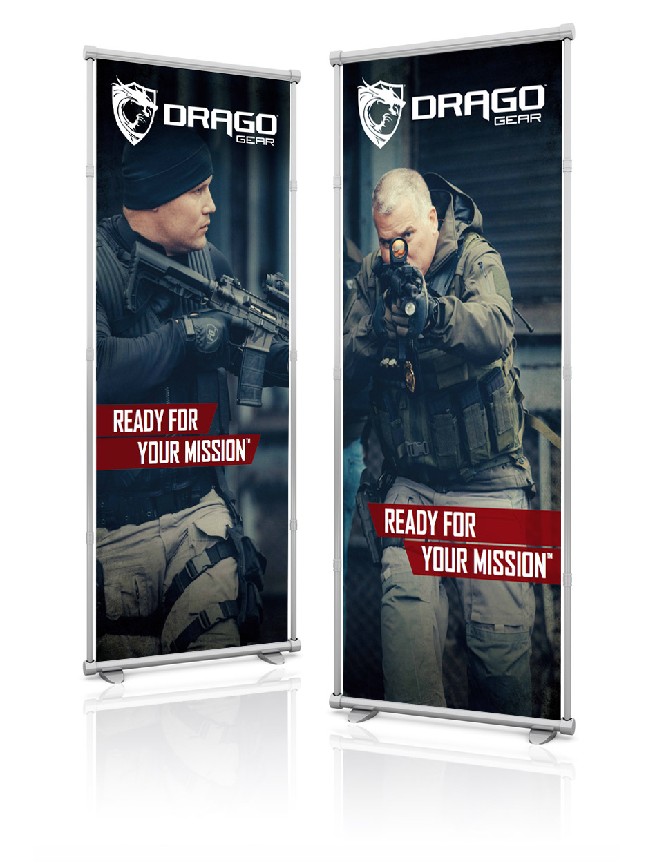 Drago Gear Banner Design