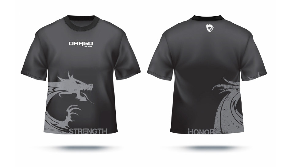 Drago Gear Tshirt design