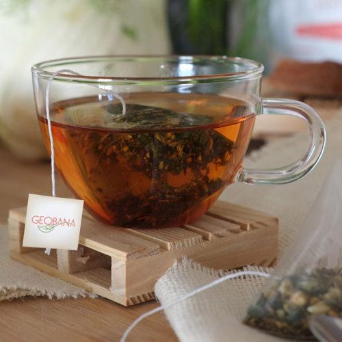 Geobana tea branding