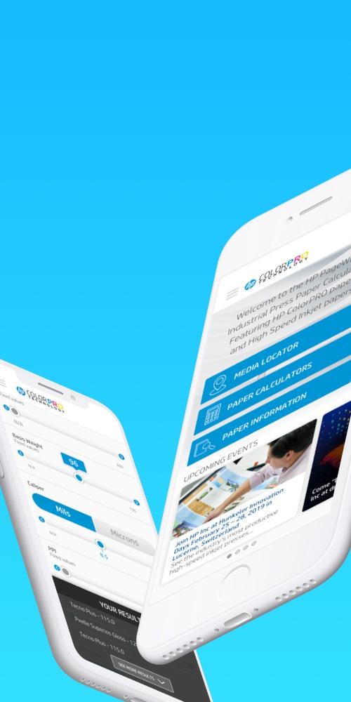 HP Mobile Screens