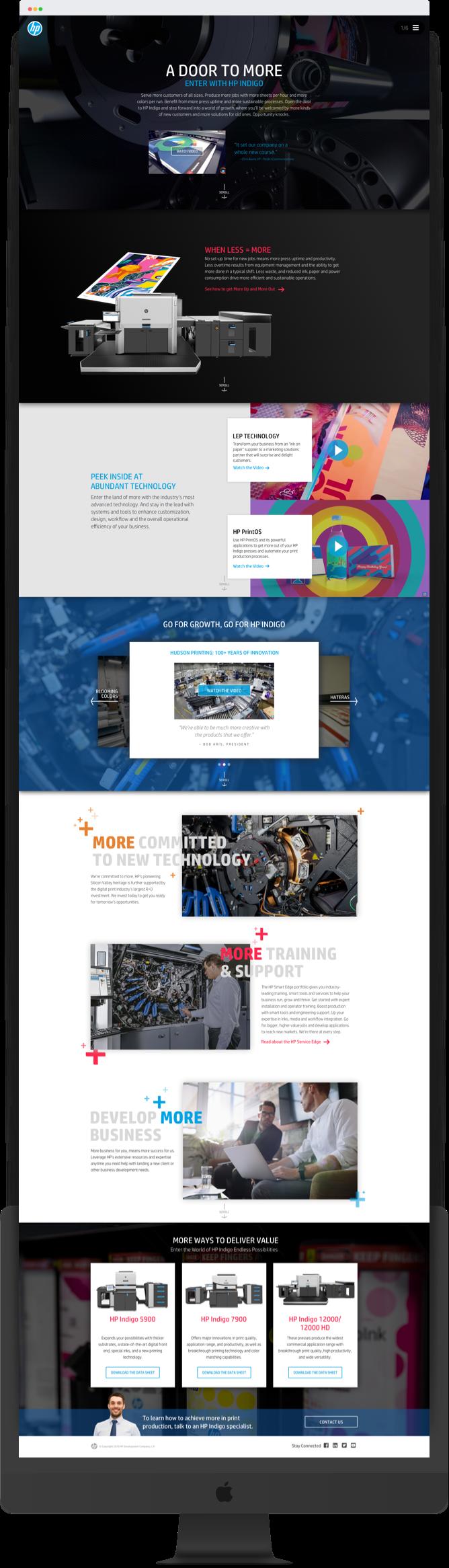 HP Indigo Printers Campaign